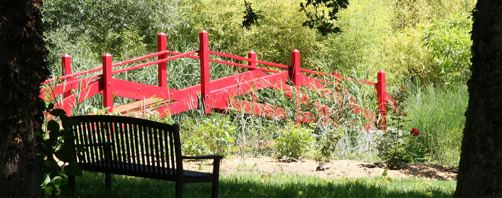 Les Jardins Du Moulin Paysagiste 05 - le pont moulin joly